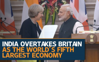 World's Fifth Largest Economy: India Left Britain, France Behind