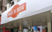 Xiaomi India Places 'Made In India' Banner Outside of Its Stores to Counter Boycott China Sentiment